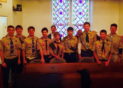 Scout Sunday 2014